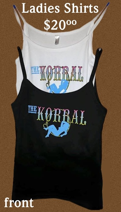 Korral logo ladies shirts for sale
